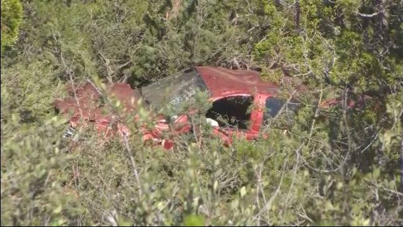 Colorado State Patrol: Car reportedly goes off the road near Cave of the Winds Saturday