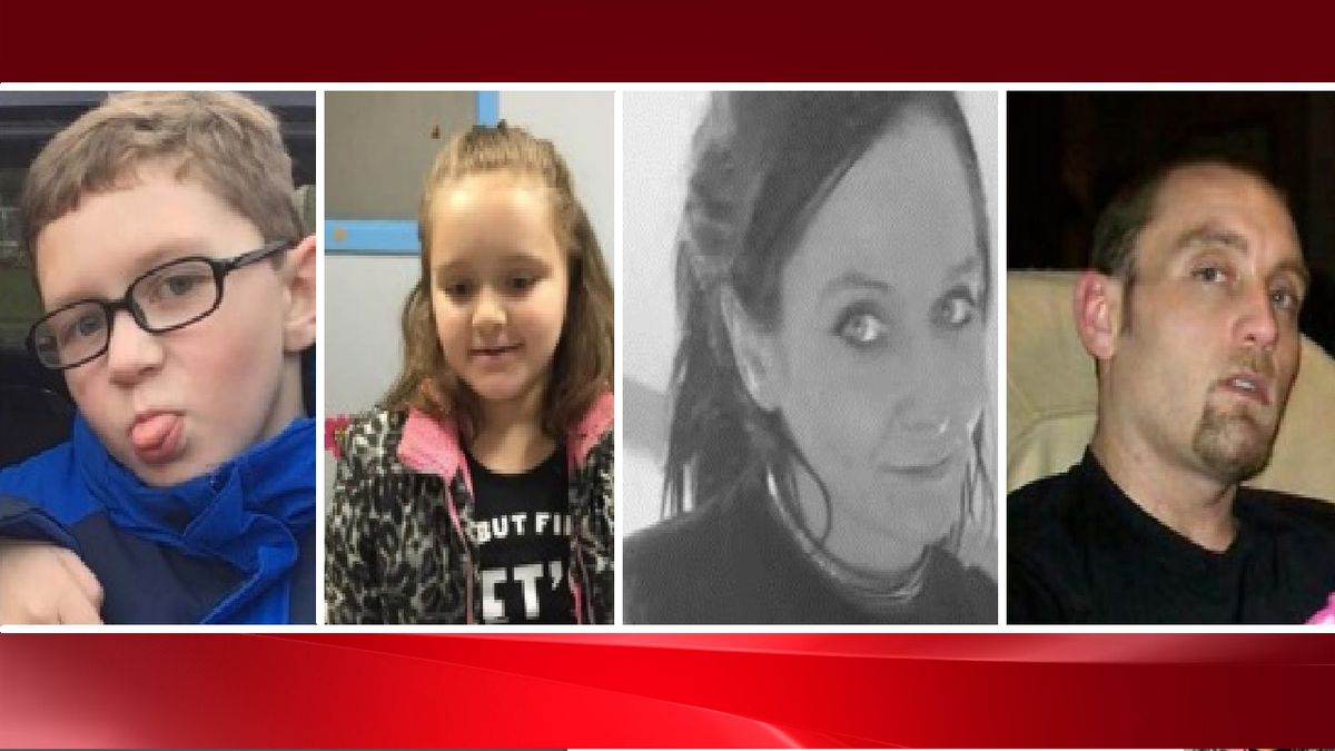 From left to right: Bentley, Karley, Rebecca and Dennis Dunkelberger.  Photos courtesy CBI.