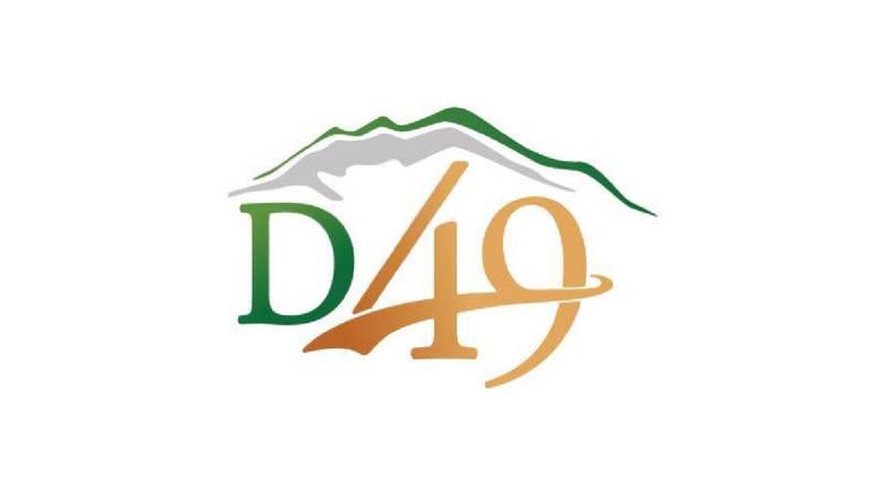Logo for an El Paso County School District.