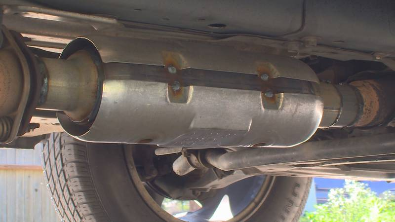 Catalytic converter thefts have skyrocketed in Colorado.
