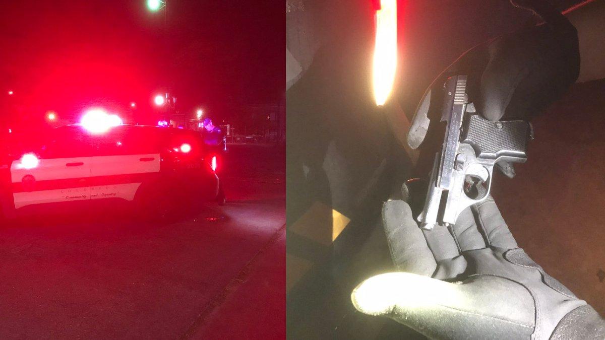 Pueblo police officers responded to West Evans Avenue and Colorado Avenue in Pueblo on reports...
