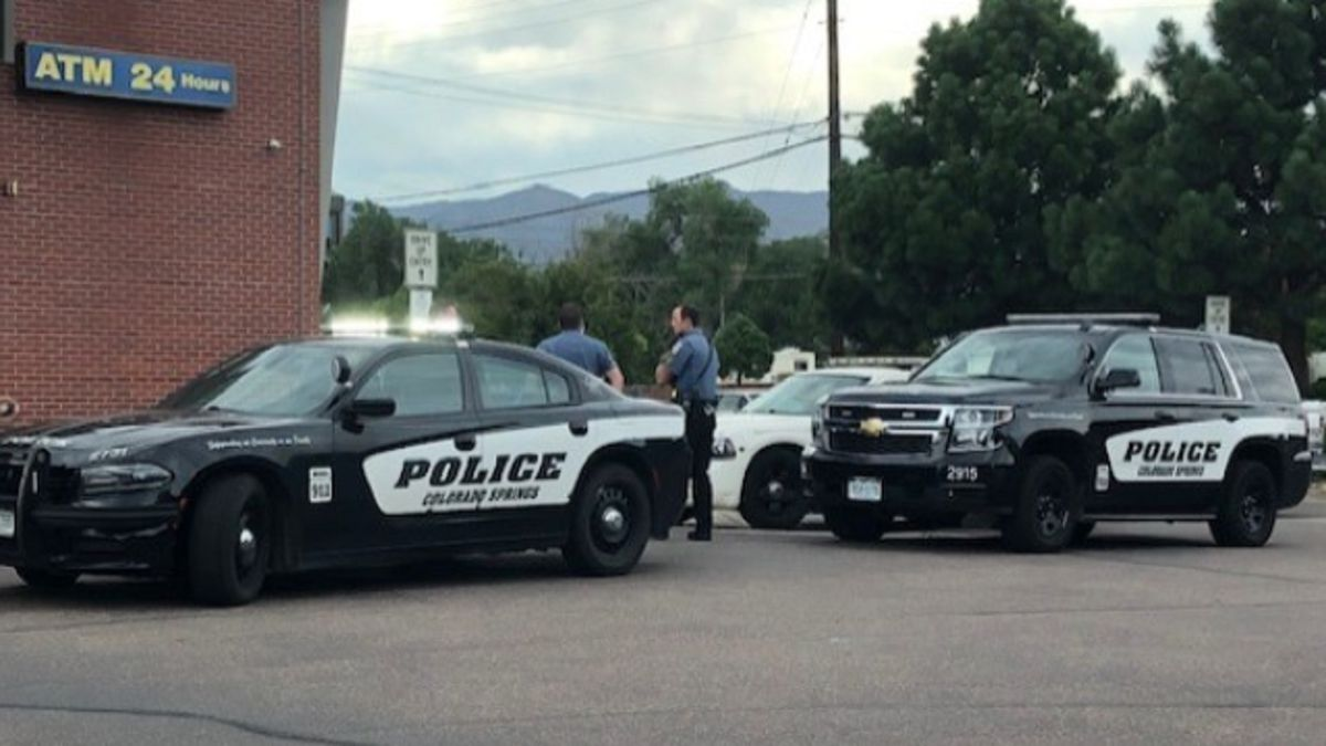 ENT Credit Union bank robbery in Colorado Springs 8/13/20.