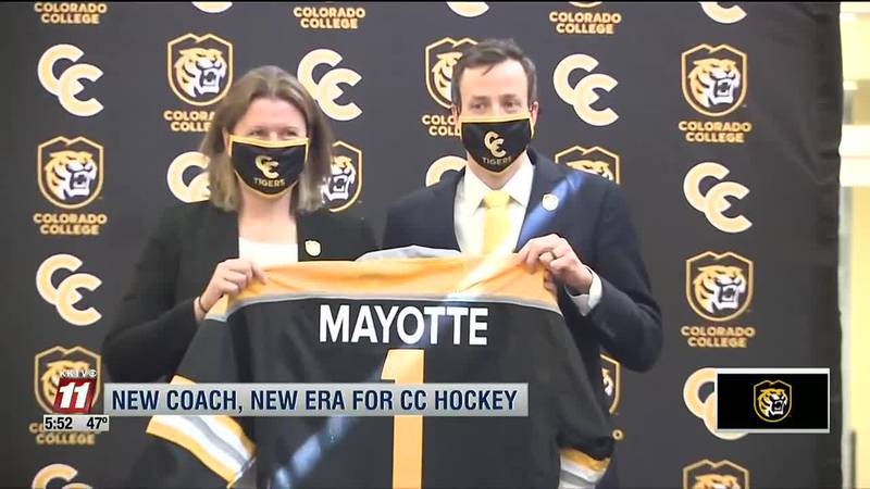 Colorado College hockey ushers in new era with introduction of coach Kris Mayotte
