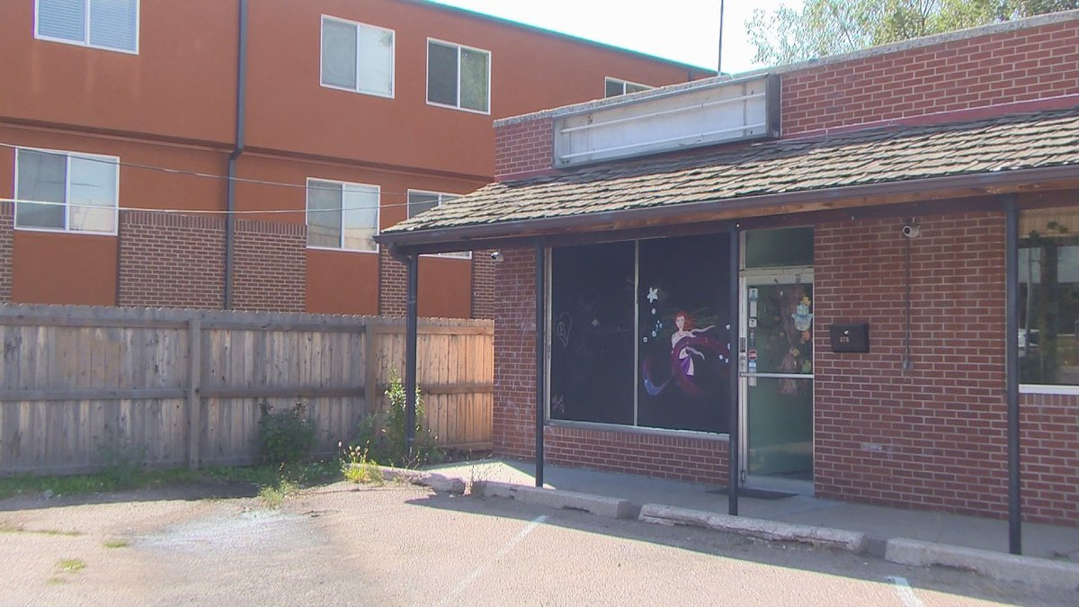 The building in which a massage parlor was located in Security.  Police believe the business...
