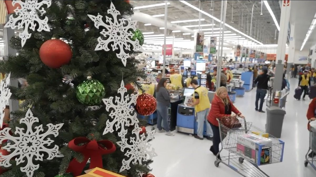 Multiple people are paying off layaways at a Walmart in Colorado Springs for strangers.  Photo courtesy Walmart Media Relations.