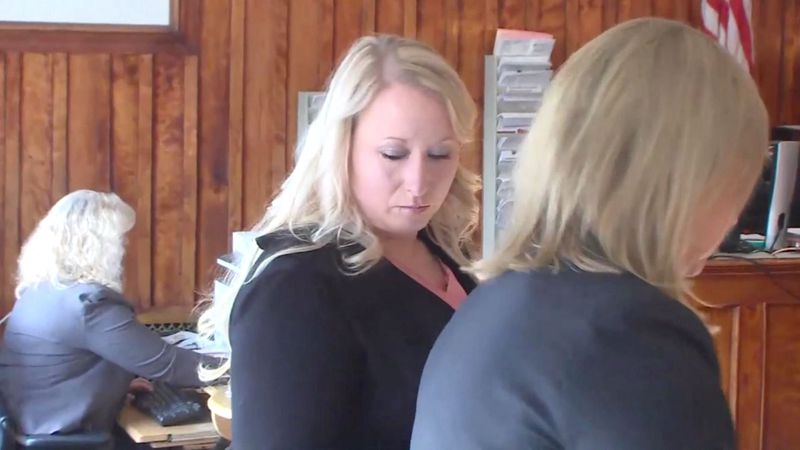 KKTV file image of Krystal Lee Kenney in a Colorado courtroom. Photo from June 2019.