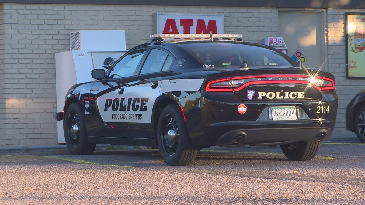 The robbery on Academy near Austin Bluffs Monday morning may be the third in a series of linked...