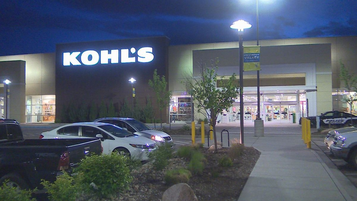 Police activity at Kohl's in Colorado Springs on June 12, 2019.