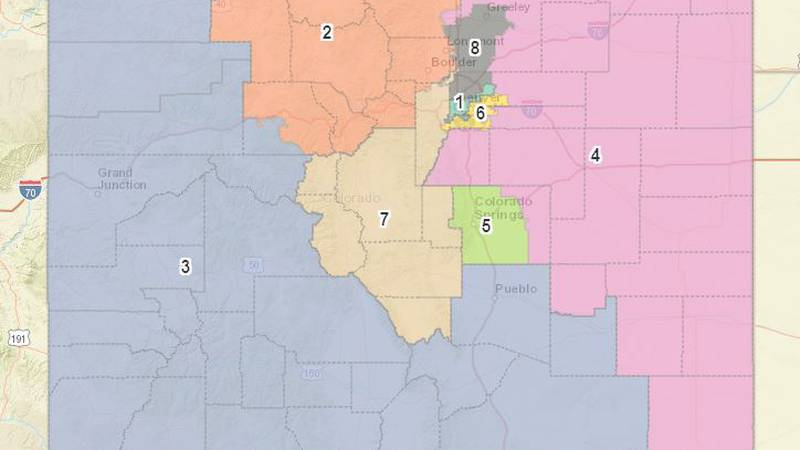 The finalized congressional redistricting map was Tuesday, Sept. 28.