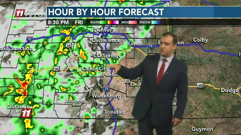 More storms & mountain flooding today