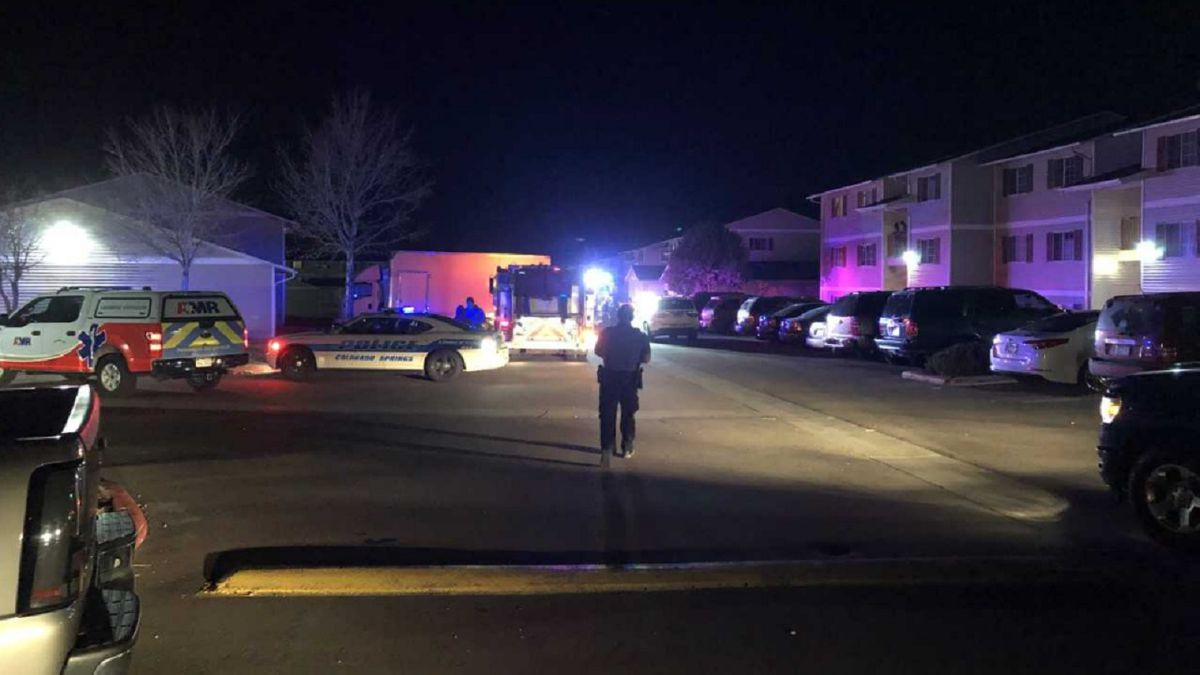 Shooting investigation in Colorado Springs at the Summit Creek Apartments. 11/13/19.