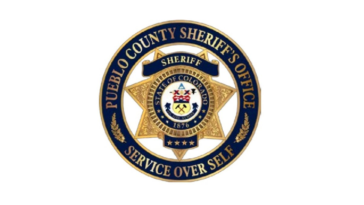 Pueblo County Sheriff's Office logo.