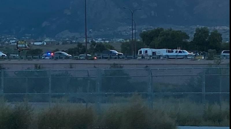 9/15/21 crash on I-25 in Colorado Springs.