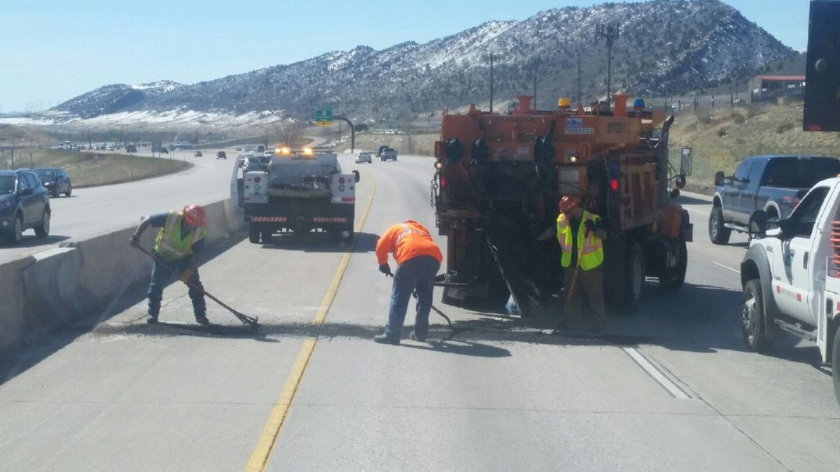 The Colorado Department of Transportation is warning dirvers pothole patching season is here!