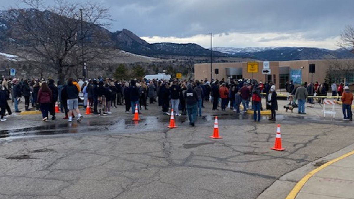 Vigil for Boulder shooting victims and survivors. 3/25/21