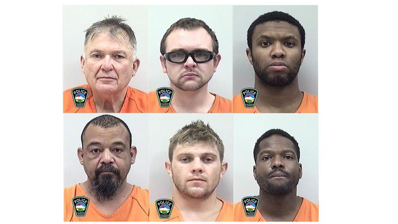 Top from left: Johnathan Guenther, James Harry, Joseph Dimes Bottom from left: Nicholas...
