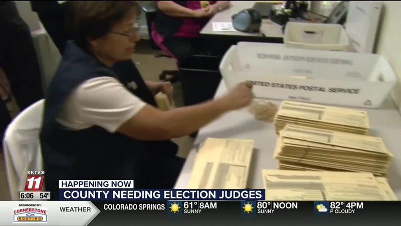 November election judges needed amid pandemic concerns