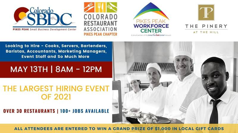 Hospitality hiring event in Colorado Springs