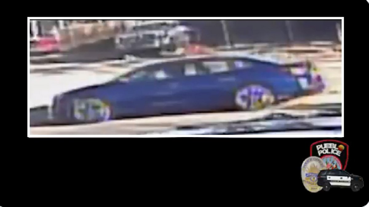 Suspect vehicle for a homicide investigation in Pueblo 11/13/20.