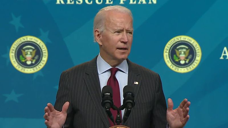 The massive coronavirus relief plan making its way to President Joe Biden's desk includes a...
