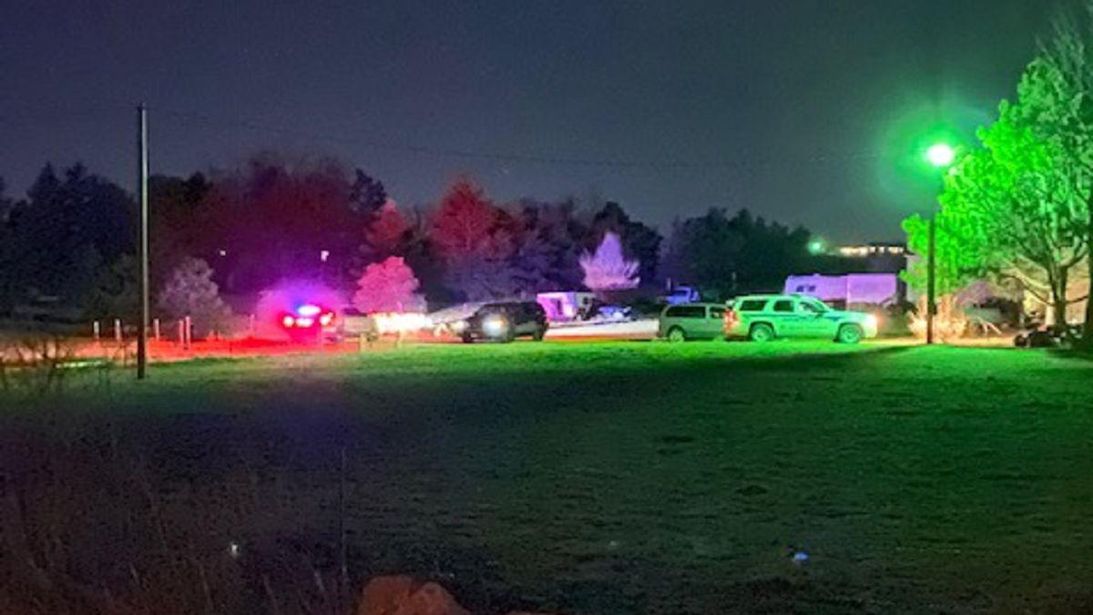 Shooting investigation in El Paso County 3/2/21.