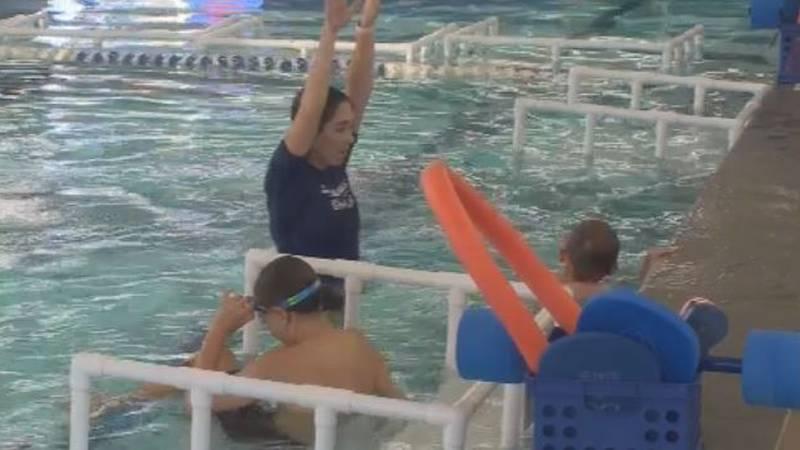 SafeSplash Swim School in northern Colorado Springs