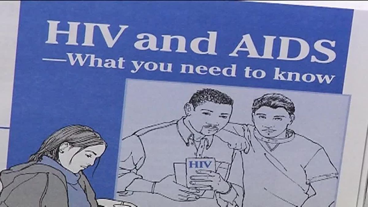Study shows people who control their HIV infections to undetectable viral levels can not...