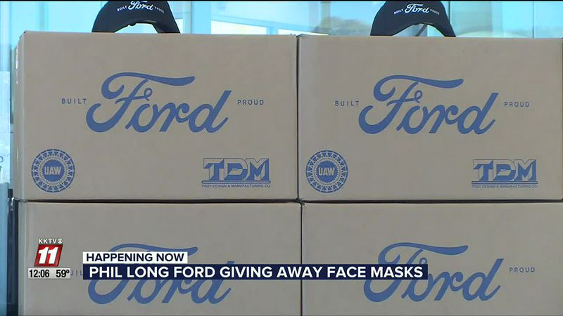 Ford mask giveaway