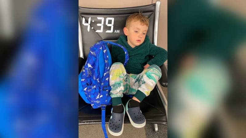 A Colorado Springs mom said her family was kicked off a flight because her 3-year-old son...