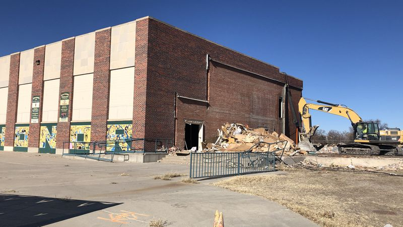 District 60 officials say the demolition will be done before the end of the year.
