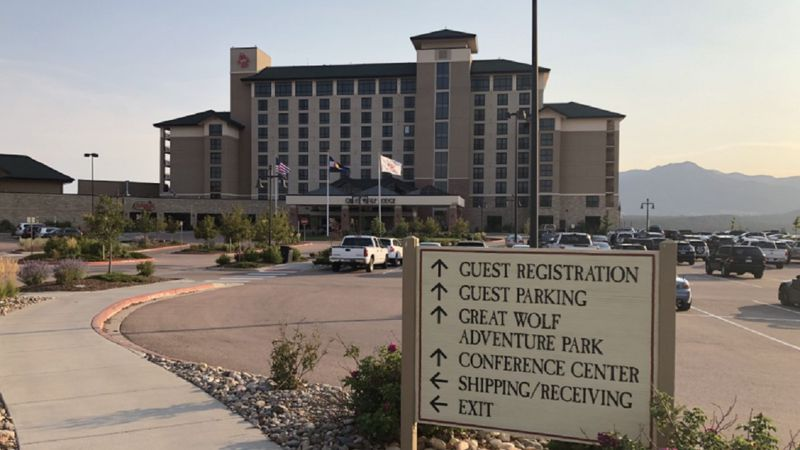 A photo of Great Wolf Lodge in Colorado Springs taken on 8/17/20.