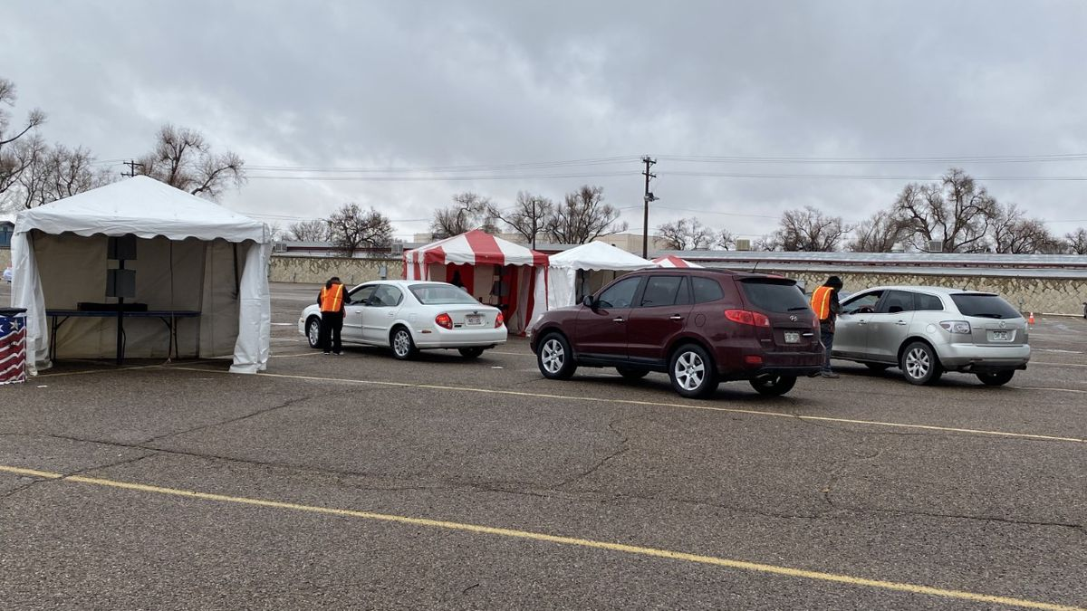 Colorado State Fairgrounds community vaccine site in Pueblo