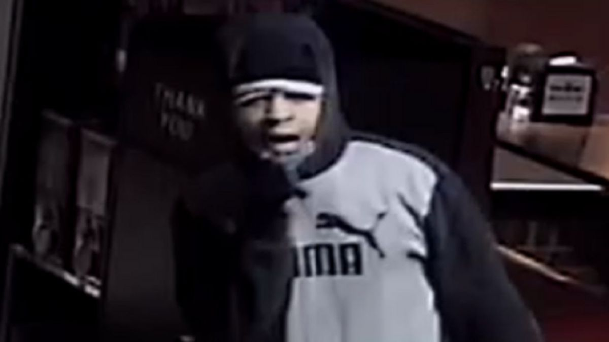 Photo of a burglary suspect.  Surveillance from Jan. 23, 2020.