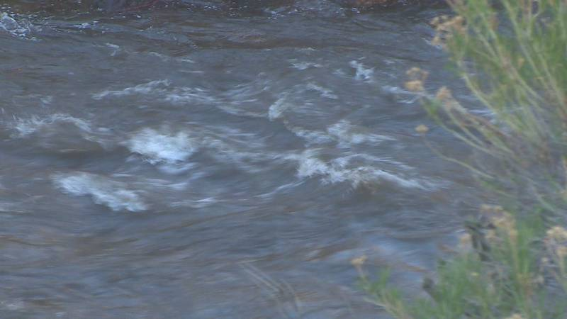 Arkansas River, undated photo