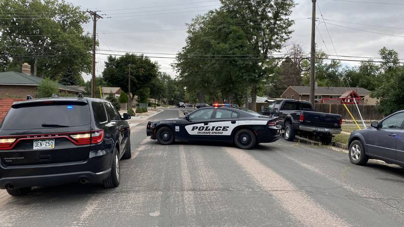 The standoff happened in Eastern Colorado Springs in a neighborhood near Constitution and...