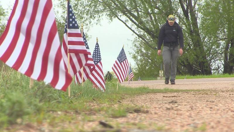 Community gathers to honor local fallen hero