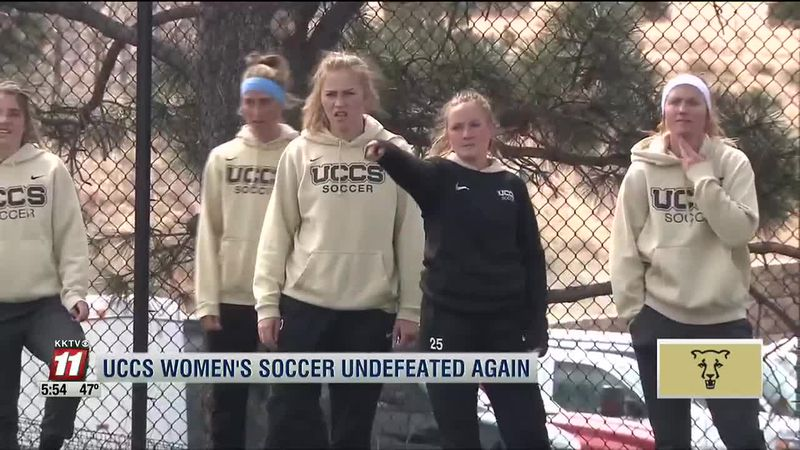 UCCS women's soccer again claims RMAC regular season title