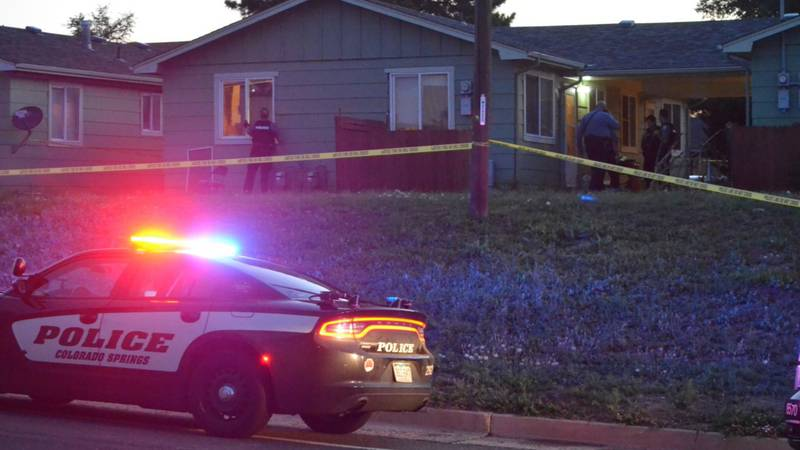 A man is in the hospital Sunday morning after reportedly getting shot when two people broke...