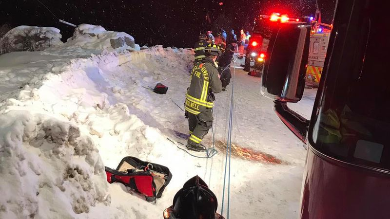 Several emergency services in Eagle County responded to Jeep flipped over: one person...