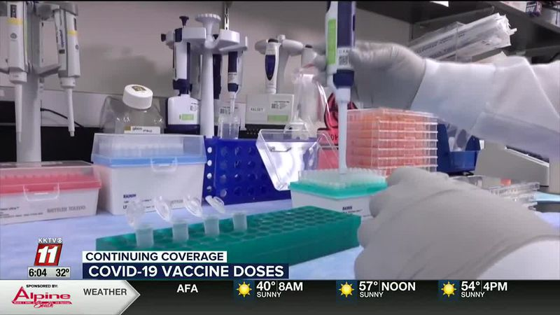 Both Pfitzer and Moderna plan 2 dose vaccines, doses given weeks apart