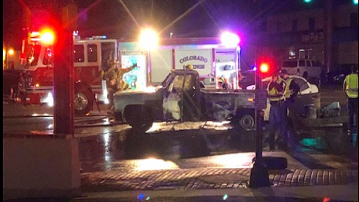 Hit-and-run crash in Colorado Springs along Platte Ave. on 12/2/20.