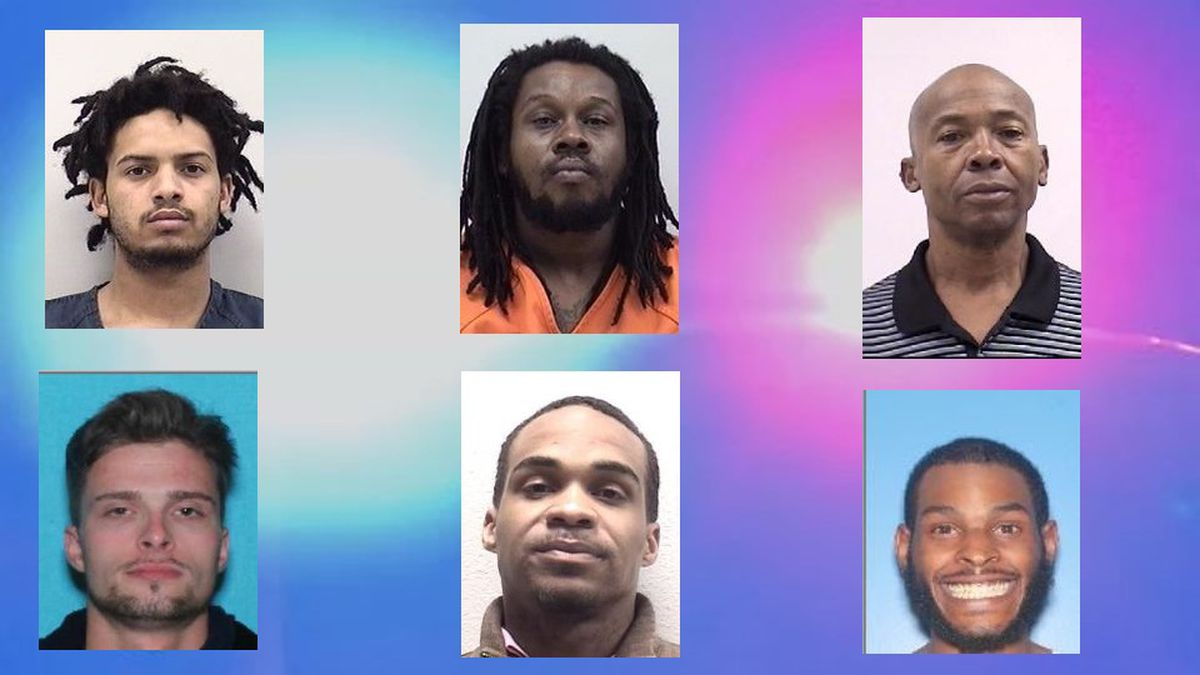 """""""Monday's Most Wanted"""" fugitives for the week of March 1."""