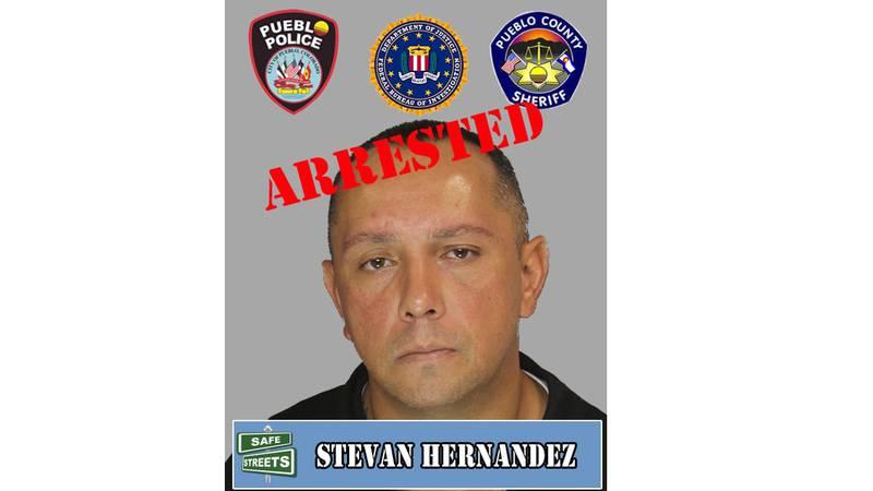 Suspect Stevan Hernandez