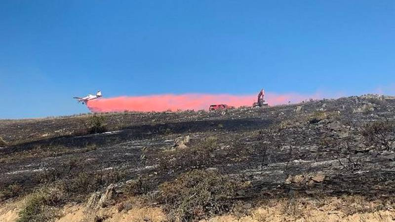 Fire in Larimer County, CO 9/20/21.