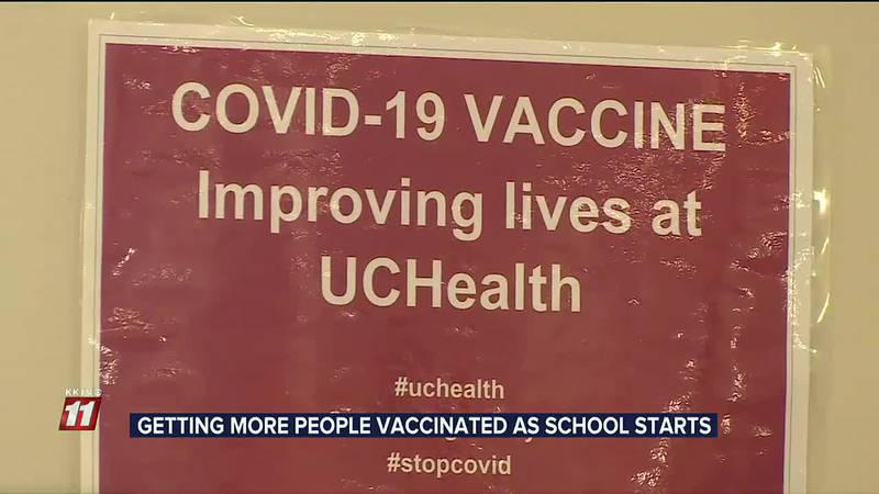 UCHealth adds more vaccine clinics amid Delta variant
