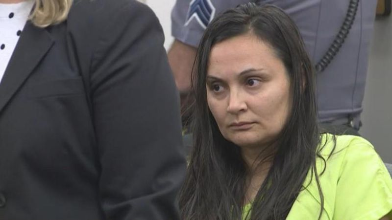Letecia Stauch in a March 11, 2020 court appearance in Colorado Springs.