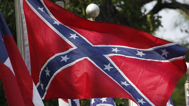 July 19, 2011 file photo of the confederate flag.