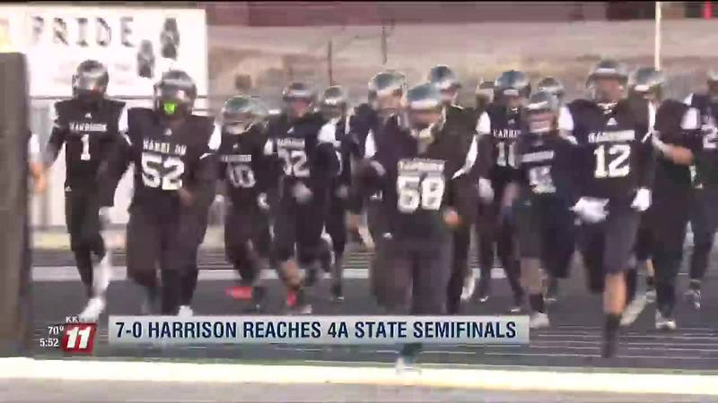 """""""On the Map:"""" Harrison, Falcon football ready to impress in 4A state semifinals"""