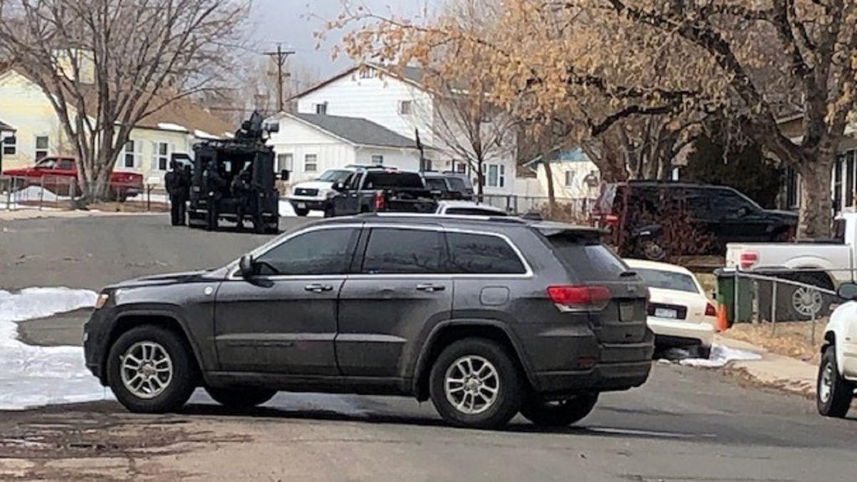 Police activity in Colorado Springs 2/25/20.