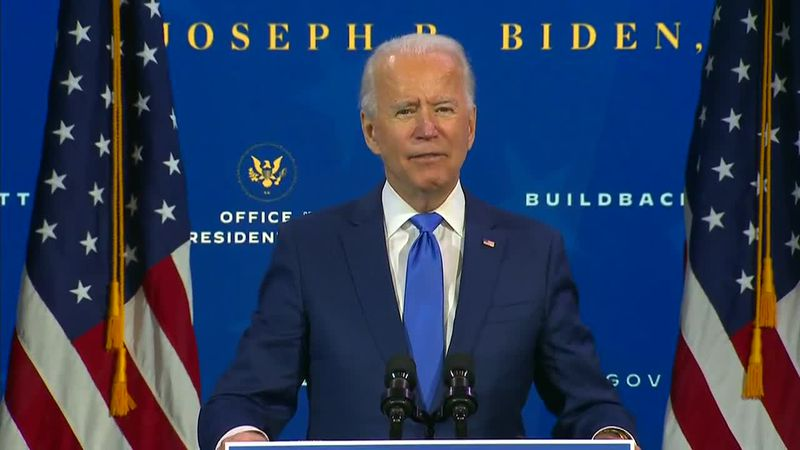 President-elect Joe Biden introduces the leaders of his economic recovery team, but millions of...